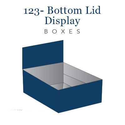 123- bottom lid display boxes (6)