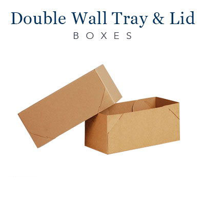 Double Wall Tray and Lid Boxes (2)