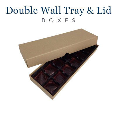 Double Wall Tray and Lid Boxes (3)