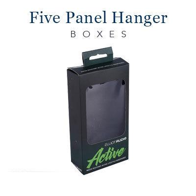 Five Panel Hanger Boxes