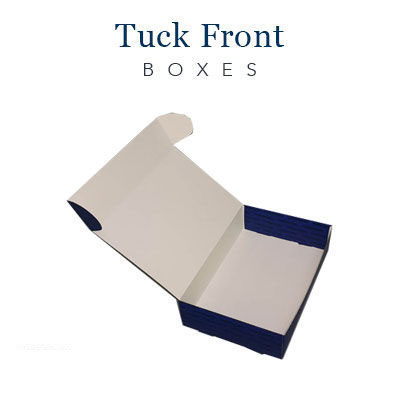 Tuck Front Boxes