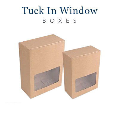 Tuck In Window Boxes